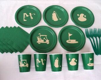Golf Tableware Set for 5 People