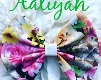 Aaliyah Bow Band Homemade