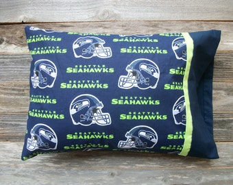 Seahawks Pillow/Seattle Seahawks TRAVEL Size Pillow
