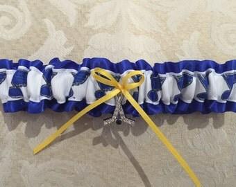 St Louis Blues wedding garter