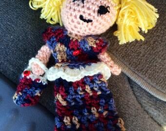 Snuggly Custom Rag Doll