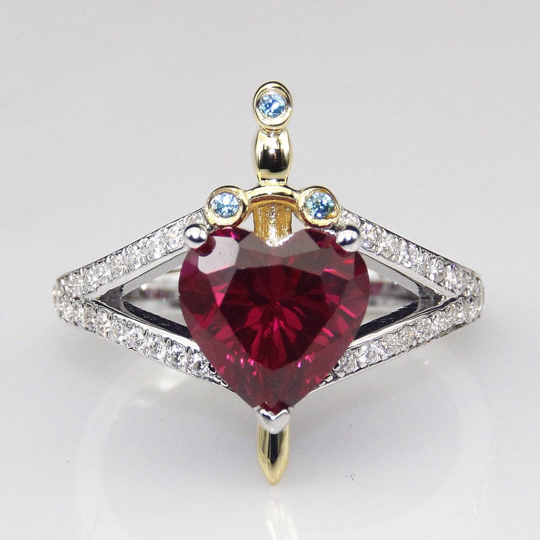 snow white huntsman princess engagement wedding promise ring