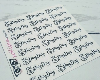 Payday stickers