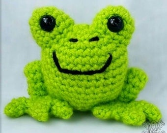 Frog Stuffed Animal - Baby Toy - Toddler Toy