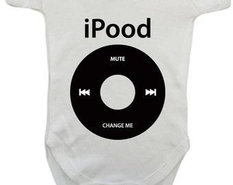 iPood Fun Baby Boys Girls Bodysuit
