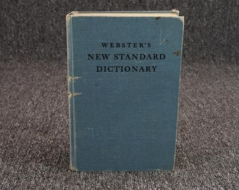 Webster's New Standard Dictionary Of The English Language C. 1946