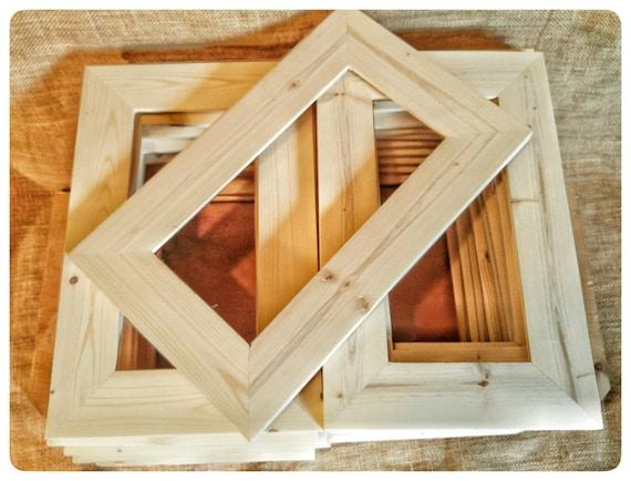 25 Wood Frames No Hardware Or Glass Bulk Wood Frames