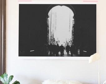 The door print 48x36 poster