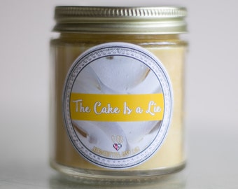The Cake is a Lie (4 oz) Soy Candle