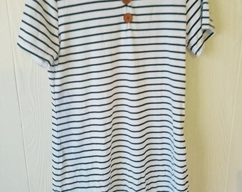 Handmade stripe dress
