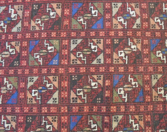 310 by 100 Centimeters Vintage Yamood Turkman Long Runner