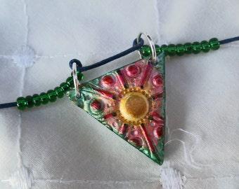 Art deco style necklace,