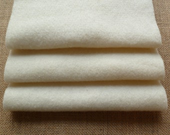 Pre felt - natural pre felt - pre felt sheets - 100% merino wool pre felt - pure wool - needle felting - wet felting - felting needles