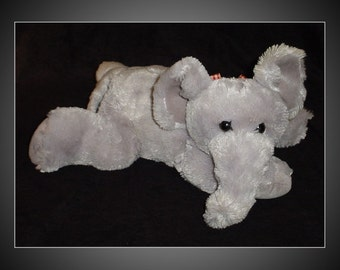 Plush Floppy Elephant Stuffed Animal