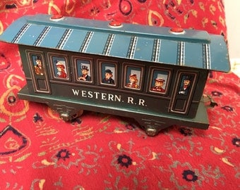 Marx Western Railroad Passenger car