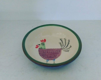 New! Rooster plate/ Νέο! Πιατάκι Kόκκορας