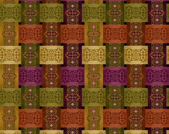 Fall Fabric, Plaid-Aubergine from the Welcome Harvest collection_8523-58