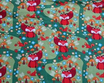 Jersey knit, Fox fall