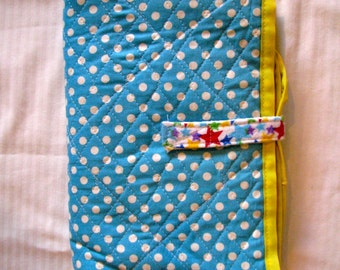 DIAPER CHANGING PAD *** Handmade with 100% repurposed Cotton Fabric