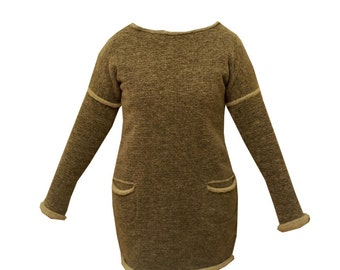 SALE 50%   dress made of wool 100%
