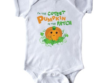 I'm the Cutest Pumpkin in the Patch Infant Creeper by Inktastic