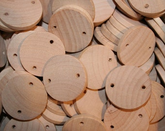 """Natural Unfinished Birthday Board Discs 1-1/2"""" x 3/16"""""""