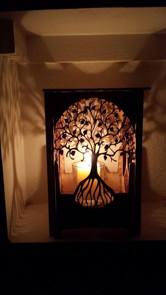 The Art Candle Table Lamp Lamp Desk Light Laser Cut