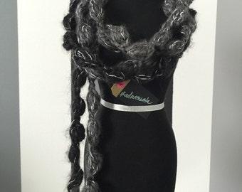 Puffed Crochet Scarf #adornments