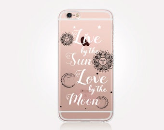 Quote Clear Phone Case - Clear Case - For iPhone 8, 8 Plus, X, iPhone 7 Plus, 7, SE, 5, 6S Plus, 6S,6 Plus, Samsung S8,S8 Plus,Transparent