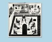 Linocut-Calendar 2016 »Nieten«