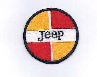 Vintage Jeep Car Patch
