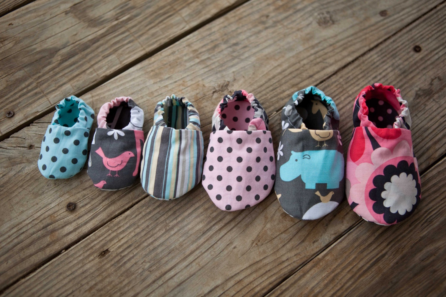 DIY Soft Sole Baby Shoes - Baby Shoe Pattern - PDF Sewing ...
