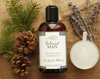 All-Natural Aftershave - Beloved Body Aftershave - Organic and Natural Skin Care