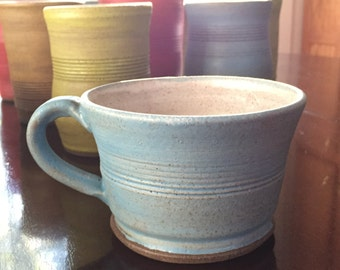 Ceramic Mug/Hot Cup • Handmade - The Crayon Collection