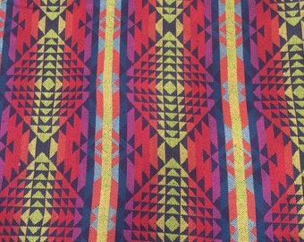 Mexican print blanket, throw