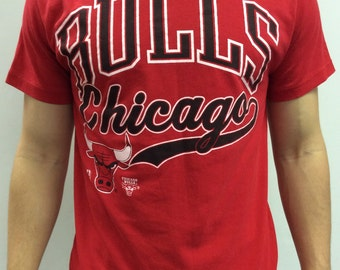 Chicago Bulls Vintage Tshirt Size L