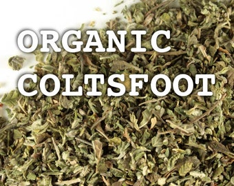 COLTSFOOT, ORGANIC  - Kosher & Organic Coltsfoot - By the Ounce - Tea and Smoking Herb