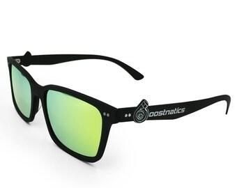 Boostnatics Carbon Fiber Boosted Turbo Shades/Sunglasses - Polarized Gold