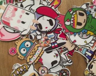 TokiDoki sticker set