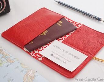 leather mens wallet, cardholder  simple wallet, womens red wallet, women wallet, gift for women