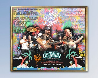 Zac Brown Band Poster