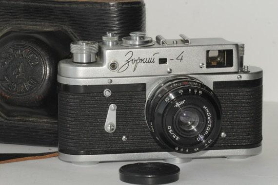 ZORKI 4 Russian vintage rangefinder film camera Lens INDUSTAR-50 N70156912