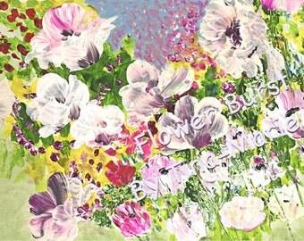 Flower Burst - Giclee Print