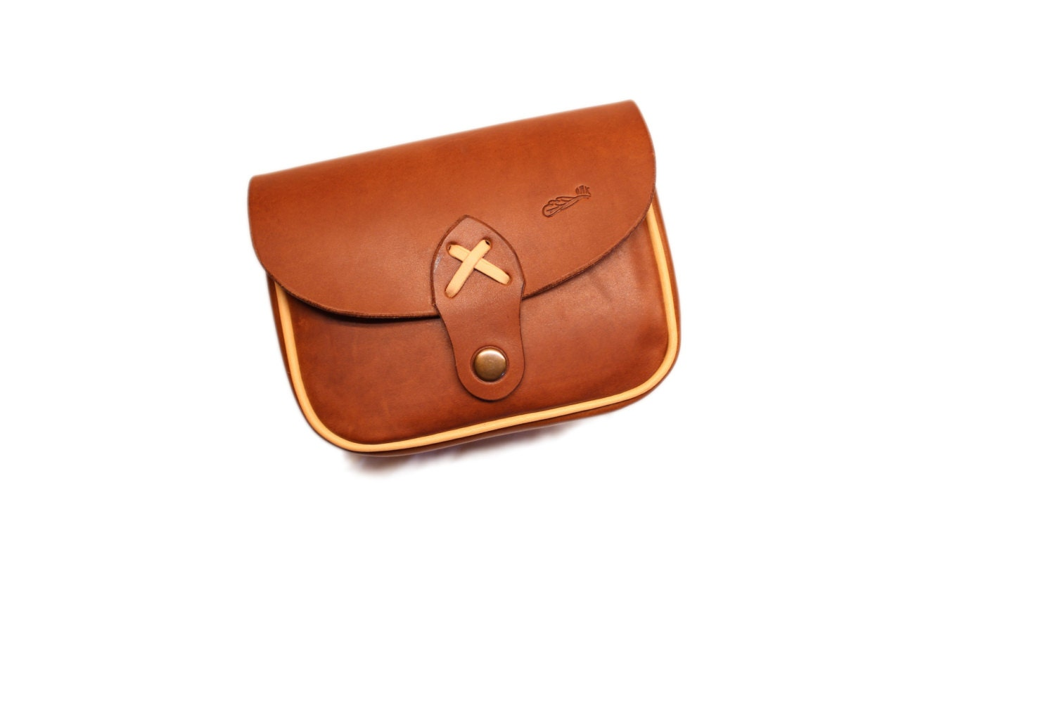 leather belt pouch bushcraft leather pouch