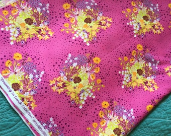 Fruity praline pat bravo fabric dreaming in french collection