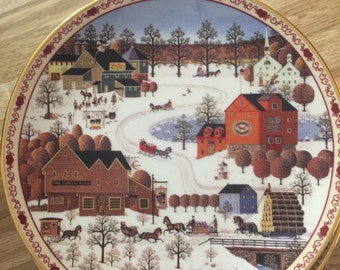 Charles Wysocki's Days To Remember collectable plates