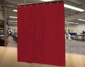"""Special Color Economy Stage Curtain/Backdrop/Partition, 12'H x 4'6""""W, Non-FR, Free Shipping!"""