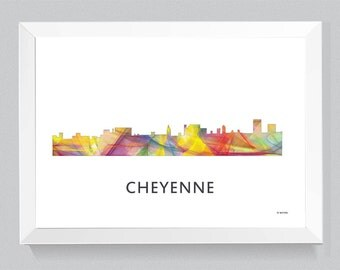 Cheyenne, Wyoming Skyline WB1