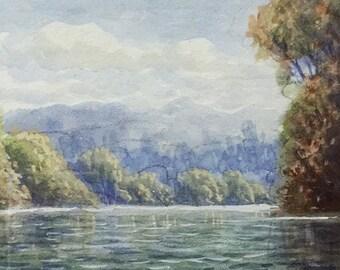 H.C. Simpson Tweed River 1955