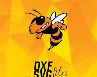 Yellow jacket SVG DXF  file Instant download!